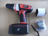 CORDLESS RECHARGEABLE DRILL (Brand New & Boxed)