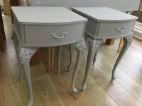 Beautiful Pair of Louis style bedside tables cabinets
