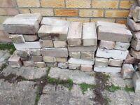 Rubble - hard core - bricks
