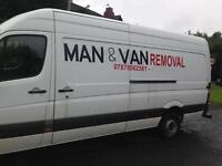 Man & Van Removal in Manchester, Longsight, Chorlton and all UK.