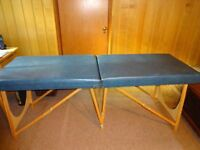 Folding Massage /Therapy table - lightweight but strong