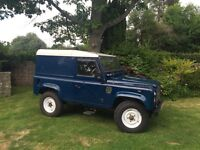 Land Rover 90 Hard Top 2003. Original vehicle in excellent condition with many extras. 2 owners