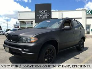 2005 BMW X5 3.0i | MATTE BLACK! | NAVIGATION | LEATHER