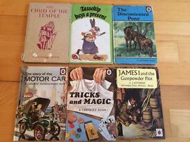 6 ladybird books