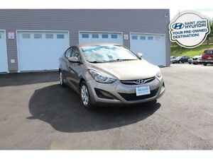 2015 Hyundai Elantra L! 6 SPEED! WARRANTY! $66 BI-WEEKLY!