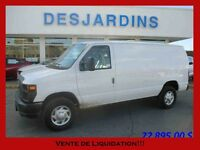 2014 FORD Econoline Cargo Commercial E-250 *CUIR/ AIR CLIMATISE/