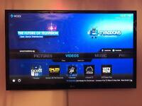 "50"",LG 3D Smart TV, Blu ray 3D player, Amazon fire stick"