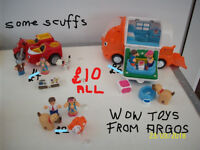 TOYS.WOW TOYS.MEERCATS,DUPLO,LEGO MAN TORCH.TEDDY TEA SET,SOLDIERS.DISNEY DOLLS.ELECTRONIC GAMES