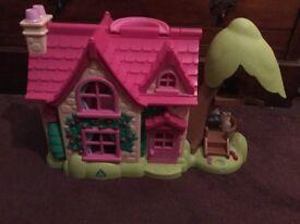 Happyland Rose cottage from ELC