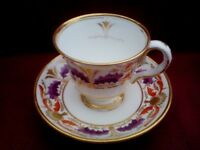 Grimston Garth Old Derby Cup and Saucer