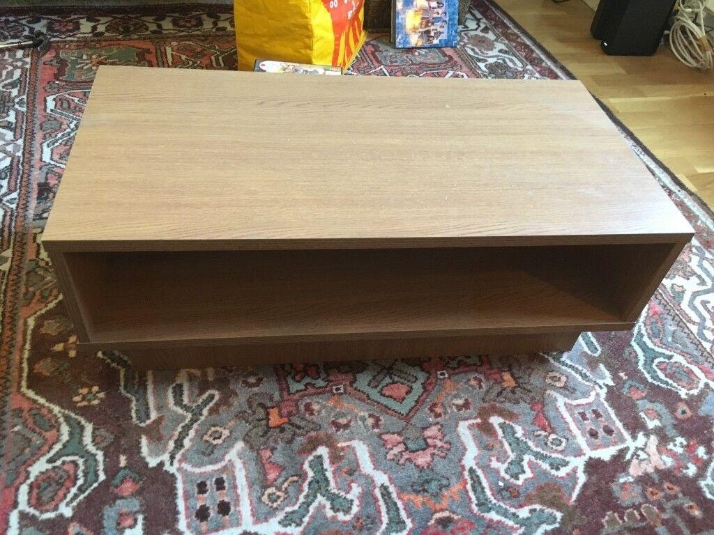 Argos Home Cubes 1 Shelf Coffee Table Oak Effect In Finsbury Park London Gumtree