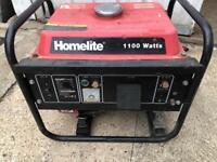 Homelite petrol generator