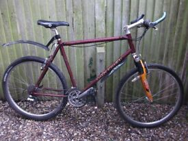 Garry Fisher adult mountain bike front suspension 24 speed twist gears good condition can deliver