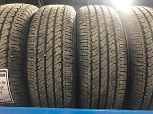 TRAX 0789 ) 4- 205/65R16  NEW FIRESTONE AFFINITY ALL  S EASON TIRES $ 250