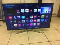 """Samsung 48"""" LED Tv smart 3D 📺 Apps Excellent Condition Warranty Free Delivery"""