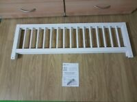 White Colour Wooden Bed Guard