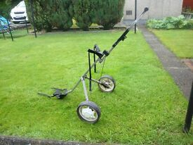 Ihave a nicely bajanced pull trolly for sale