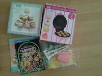 Baking set cupcake maker stand and professional icing kit