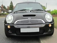 Mini Cooper S 05 64k – Heated Leathers, P-Roof, Sat Nav, Harmon Kardon, Xenon, Not JCW **TOP SPEC**