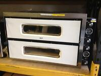 "New italian pizza oven electric single phase 8x12"" pizza"