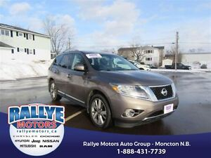 2014 Nissan Pathfinder Platinum! AWD! Alloy! DVD! Nav! Leather!
