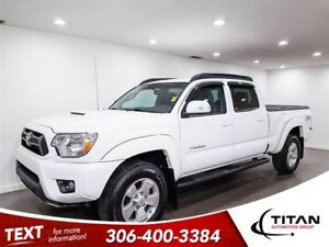 2015 Toyota Tacoma White|Local Trade|Low Kms|PST Paid