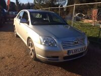 Toyota Avensis 2.2 D-4D T3-X 5dr LOW MILEAGE OUTSTANDING SERVICE HISTORY ONLY £1650