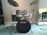 Great Condition 5 pc Tama Swingstar Drum Kit