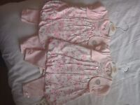 NEW dress and trousers 3-6months