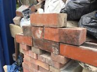 Reclaimed Accrington bricks