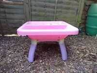 Pink Sand Pit - With Lid