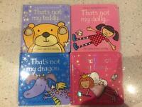 Usborne touchy-feely book bundle