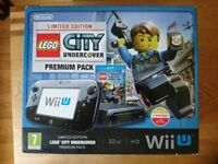 Nintendo Wii U 32 GB Premium Pack Console Starter Pack & 2 Lego Games & FIFA Game As New Condition