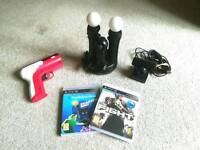 Playstation Move Controllers