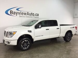 2017 Nissan Titan XD PRO-4X Gas - REM START! HITCH! HTD/AC LT...