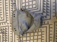 Ergo baby carrier insert with cushion