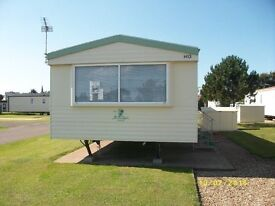 STATIC CARAVAN SITED IN SILLOTH , CUMBRIA
