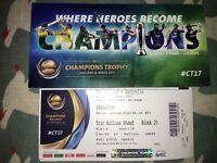 Australia v New Zealand ICC Champions Trophy Cricket @ Edgbaston Tickets x 4