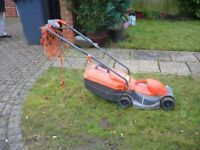 electric lawnmower. flymo rollermo good working order