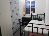 Twin room at Finchley Road / North Circular