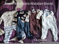 Baby boy outfits 3-6 months clothes