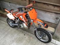 2004 ktm sx50 junior