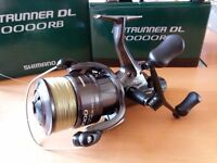 Shimano Baitrunner DL 10000RB Fishing Reels x2