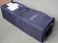 kingswood Nursery Navy Blue travel Cot