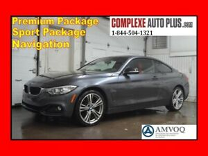 2016 BMW 4 Series 428i xDrive Performance Pack *GPS, Cuir Rouge