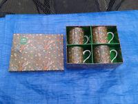 Mugs Coffee Tea etc NEW IN BOX great present... The Leonardo Collection...(See Photos)