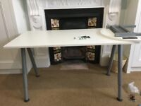 Ikea Galant Desk, optional extension and Galant filing drawers - excellent condition