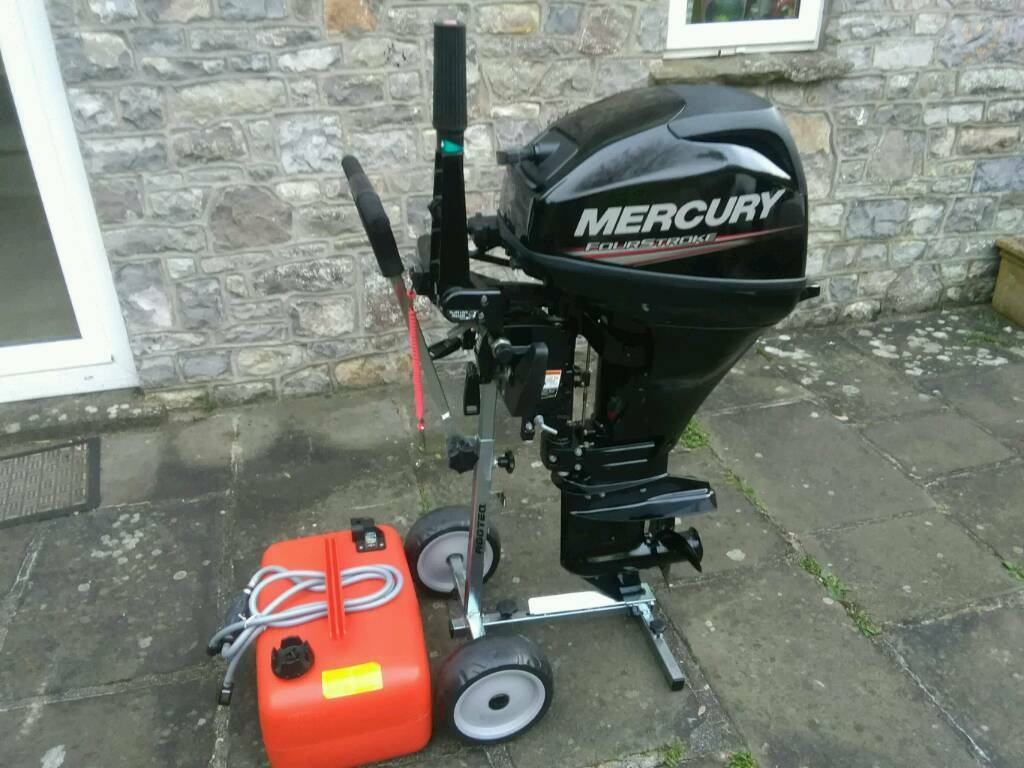 15 hp outboard engine Mercury 4 Stroke Short Shaft  New and un-used    in  Gloucestershire   Gumtree
