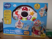 V tech Little Friendlies 3 in 1 baby centre