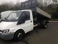 2001 ford transit tipper 90 ps starts and drives